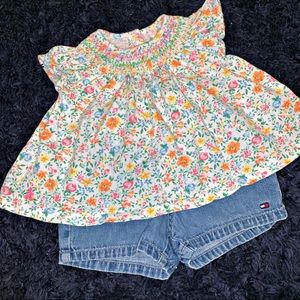 Ralph Lauren | Floral Dress | Pants NOT Included